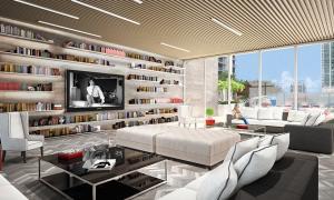 Area Social The Bond Argo Estrategia Miami Edificio